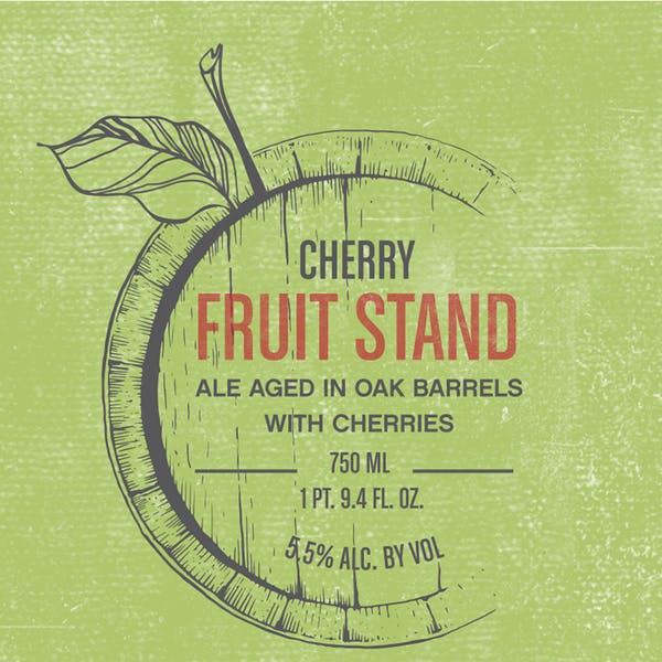 Label - Fruit Stand Cherry