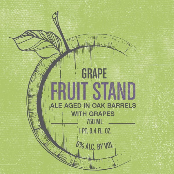 Label - Fruit Stand Grape