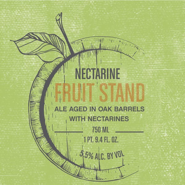 Label - Fruit Stand Nectarine
