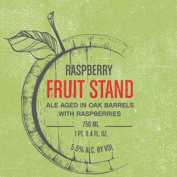 Label - Fruit Stand Raspberry