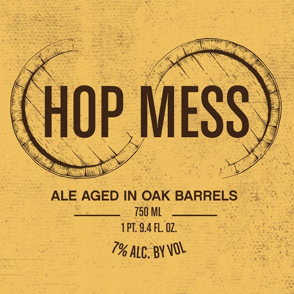 Label - Hop Mess
