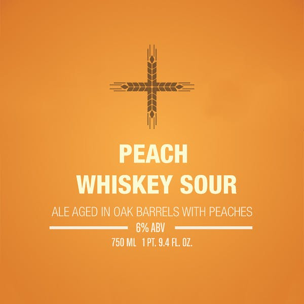 Label - Peach Whiskey Sour