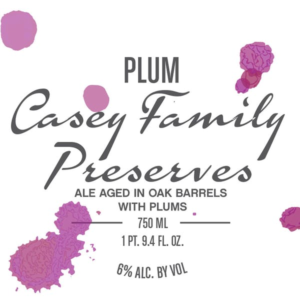 Label - Plum Casey Family Preserves