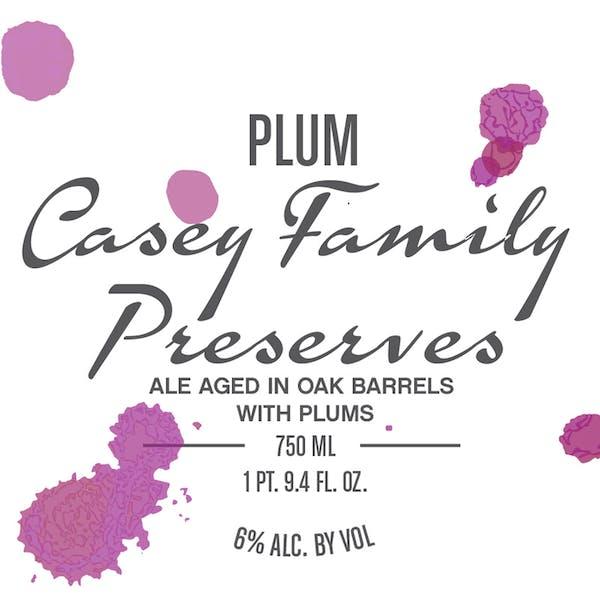 Label - Plum Casey Family Preserves