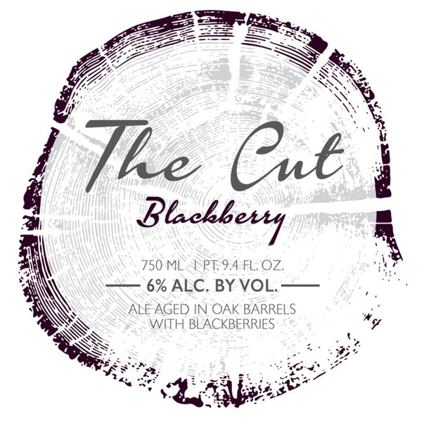 Label - The Cut Blackberry