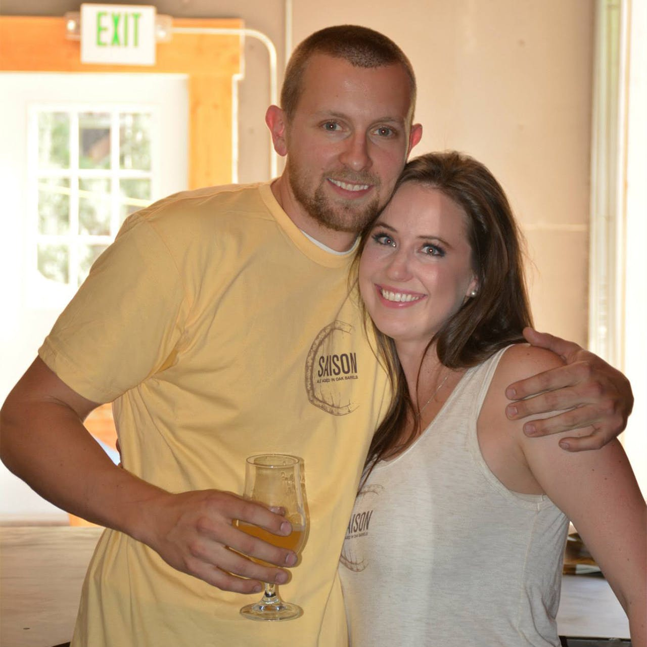 Troy and Emily Casey from Casey Brewing in Blending in Glenwood Spring, Colorado