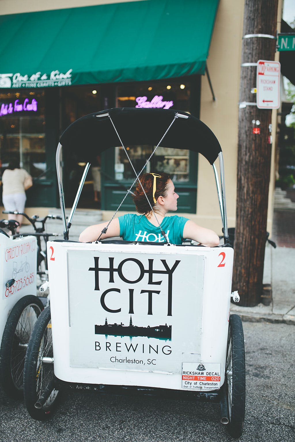 Holy City brewing cab