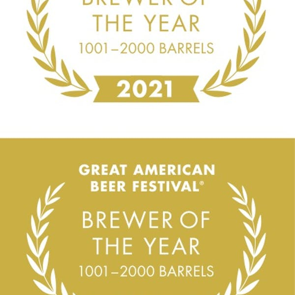 2021 GABF BREWERY OF THE YEAR (1,001-2,000 barrels)