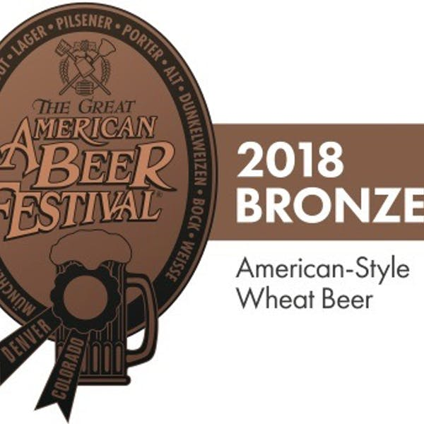 2018 GABF Bronze for American-Style Wheat