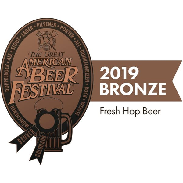 2019 GABF Bronze for Fresh Hop Beer