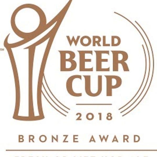 2018 World Beer Cup Bronze Fresh or Wet Hop Ale