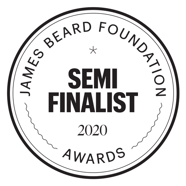 2020 James Beard Semi-Finalist for Outstanding Wine, Spirits, and Beer Producer