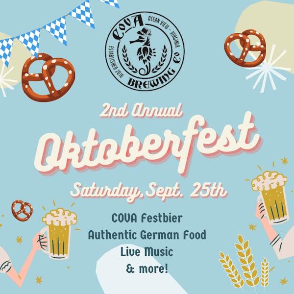 COVA 2nd Annual Oktoberfest