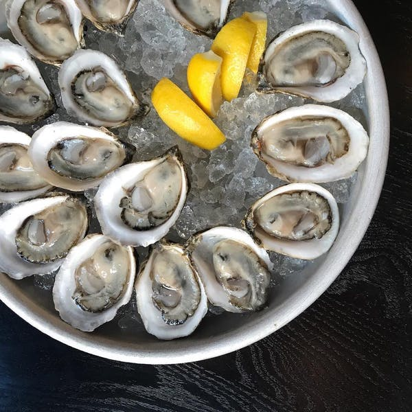 Row 34: Oysters. Beer. Repeat.