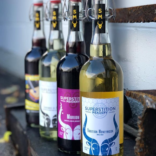 Need: Mead. Introducing Superstition Meadery. Award-Winning Mead, Limited Availability