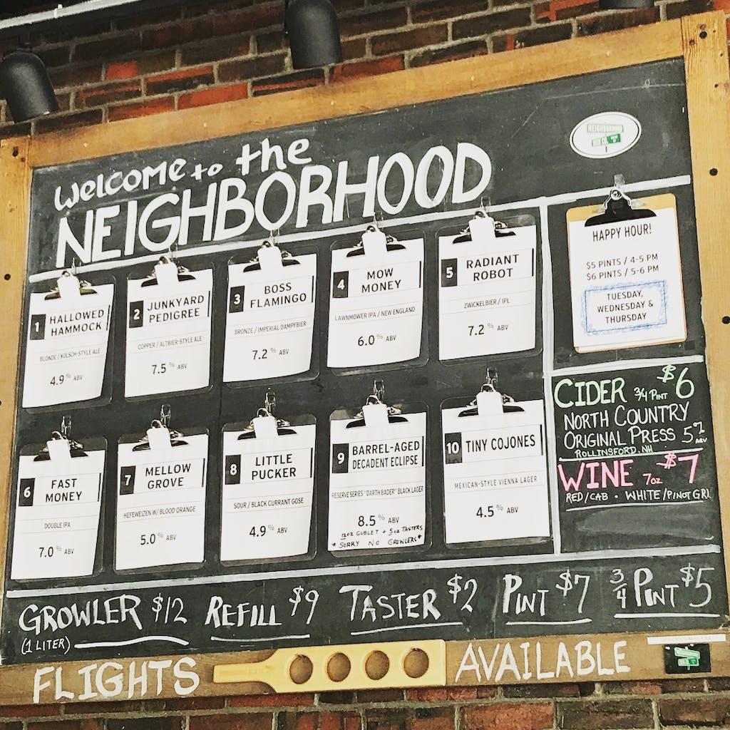 Neighborhood Beer Co