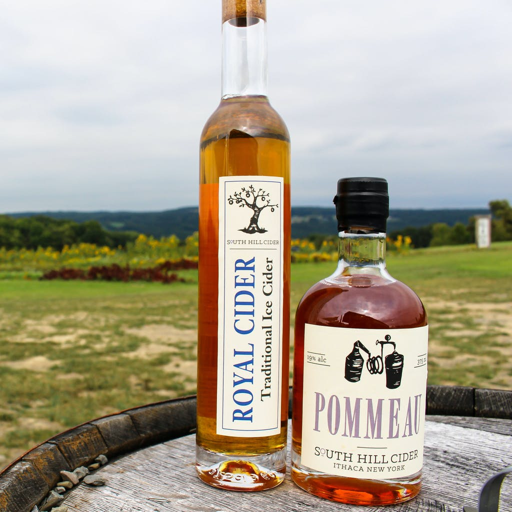 Pommeau and Ice