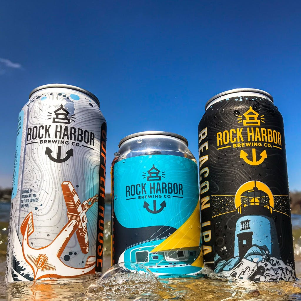 Rock Harbor Brewing Lineup
