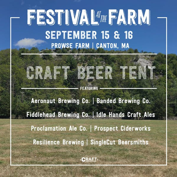 Festival at the Farm: Craft Beer + Music + Farmers Market + All-Day Breakfast