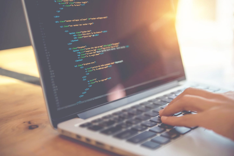 computer laptop coding