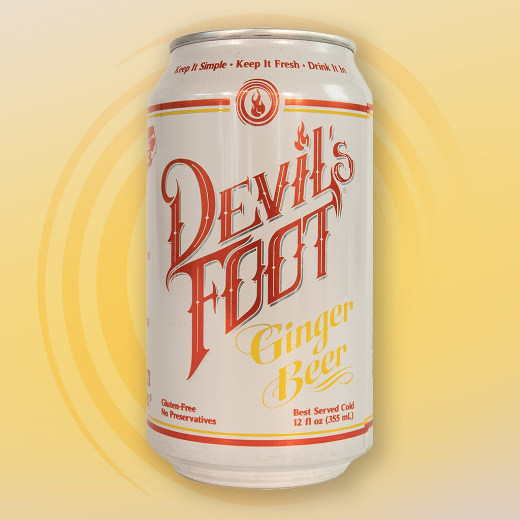 12 oz. can of Classic Ginger Beer