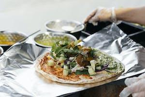 Funky Falafel, food truck, street food