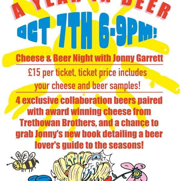 A YEAR IN BEER – Cheese & Beer Night w/ Jonny Garrett