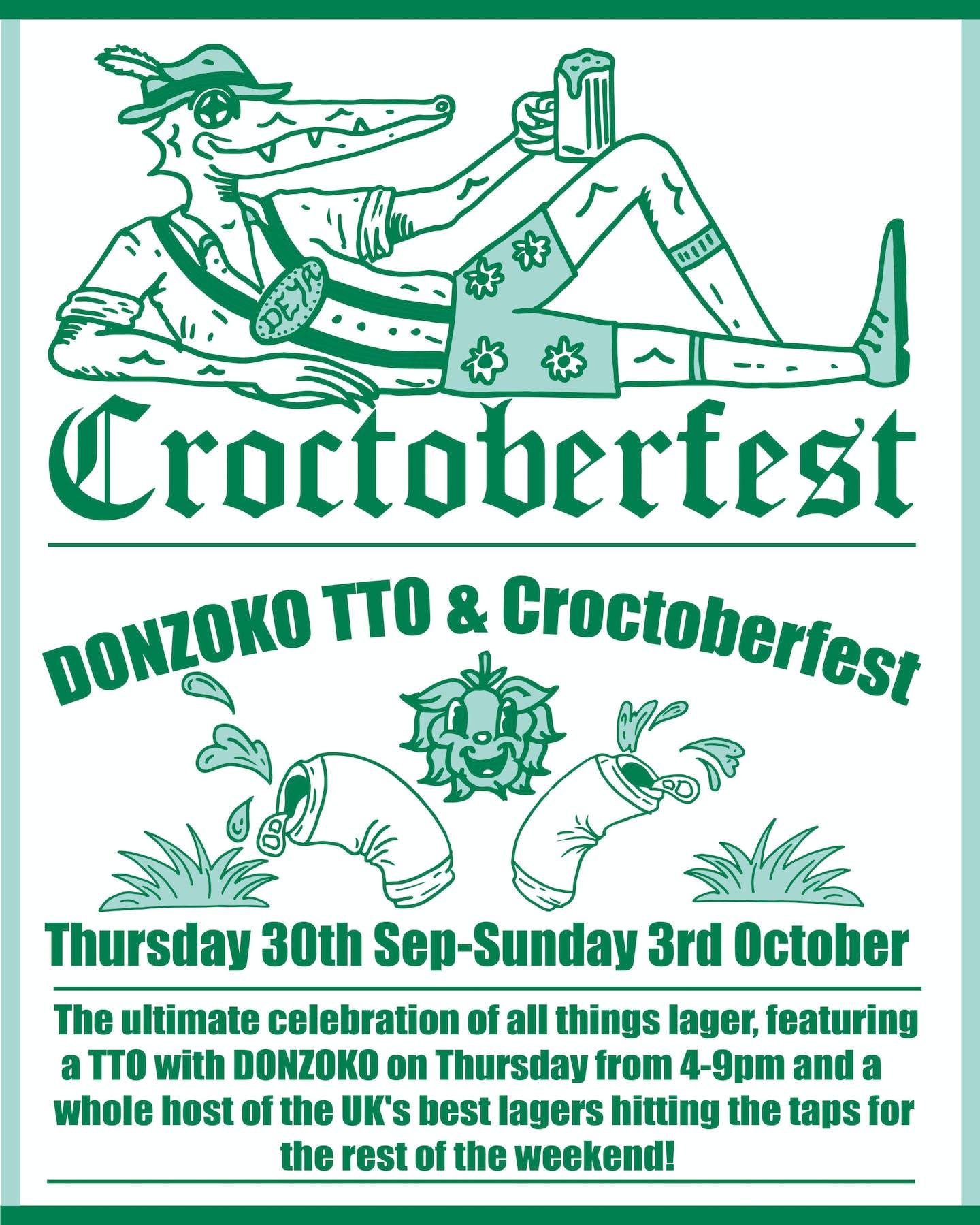 CrooctoberfestPoster