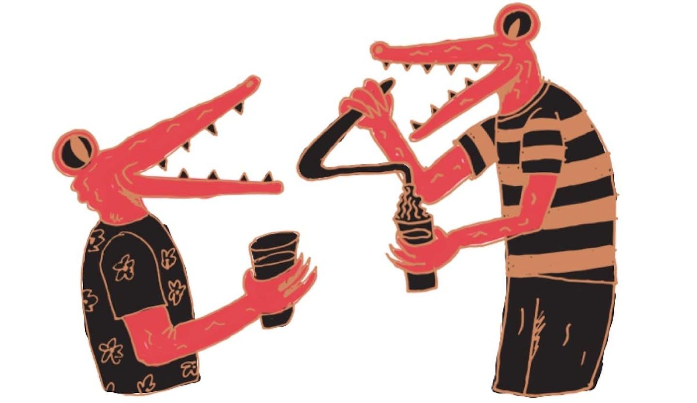 illustration-croc-pouring
