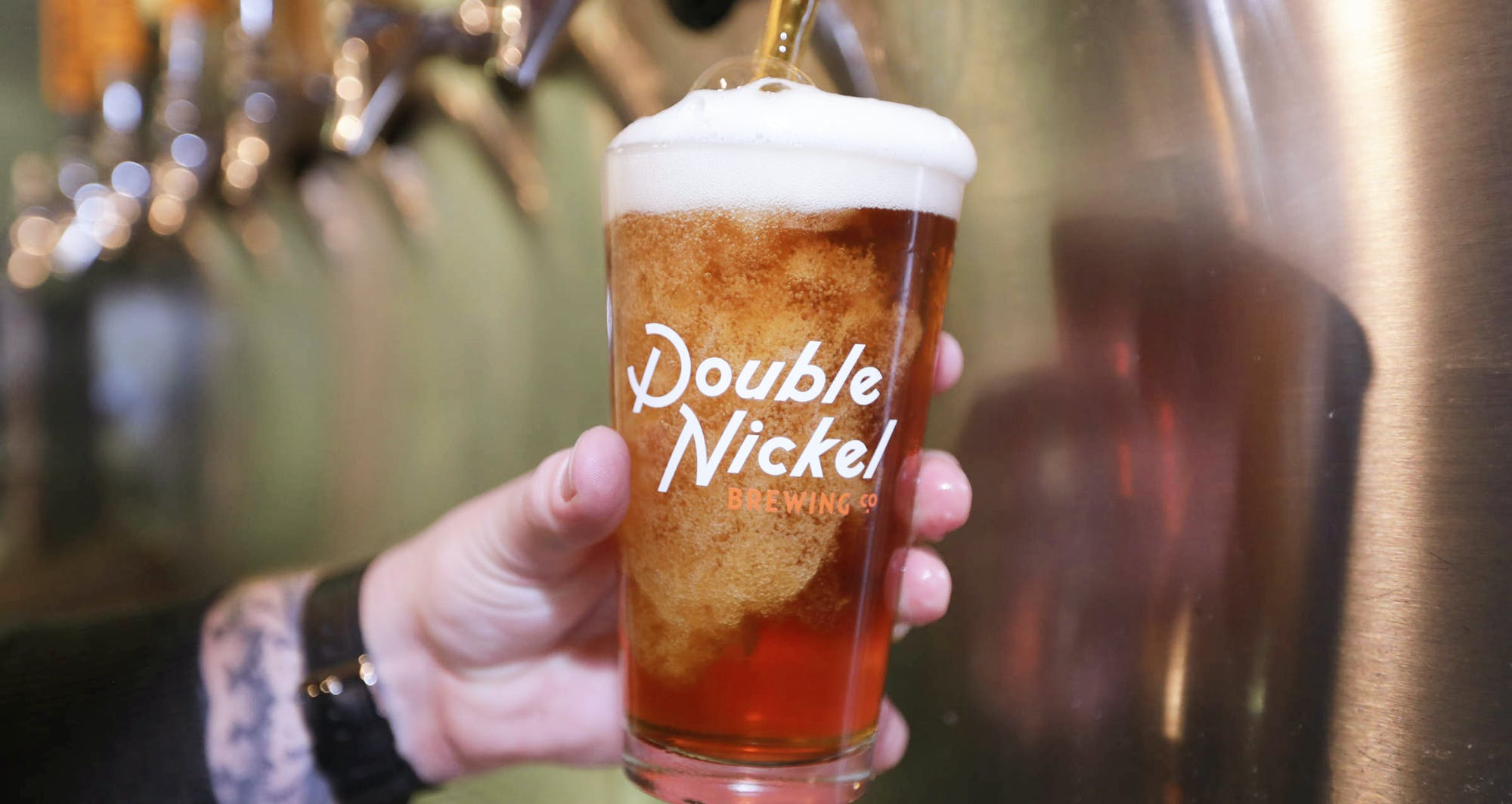 Double Nickel Beer On Tap