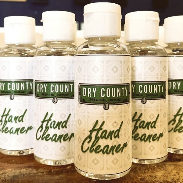Dry County Brewing Shifts Vodka Production to Hand Sanitizer