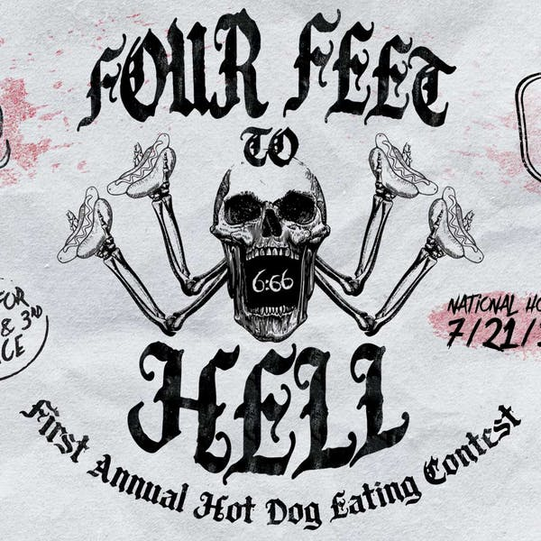FOUR FEET to HELL