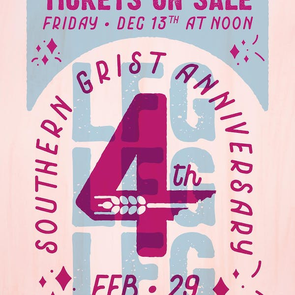 Southern Grist 4th Anniversary