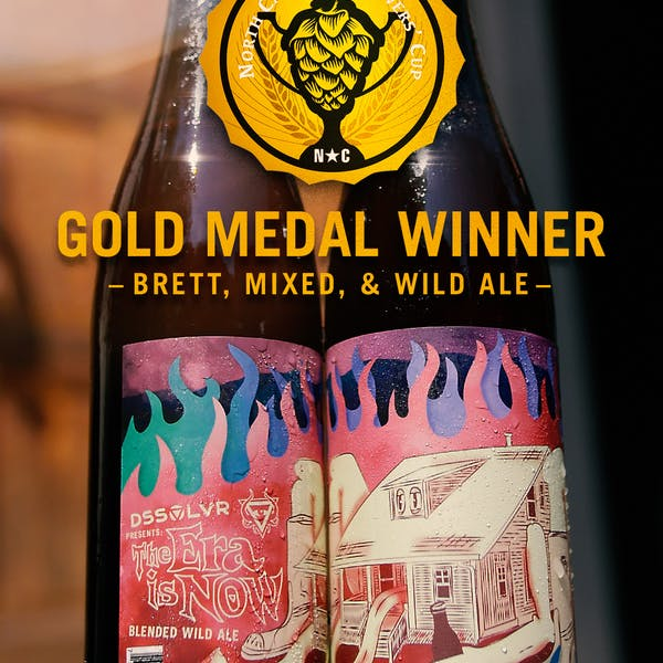 NC Brewers' Cup Gold Medal Beer