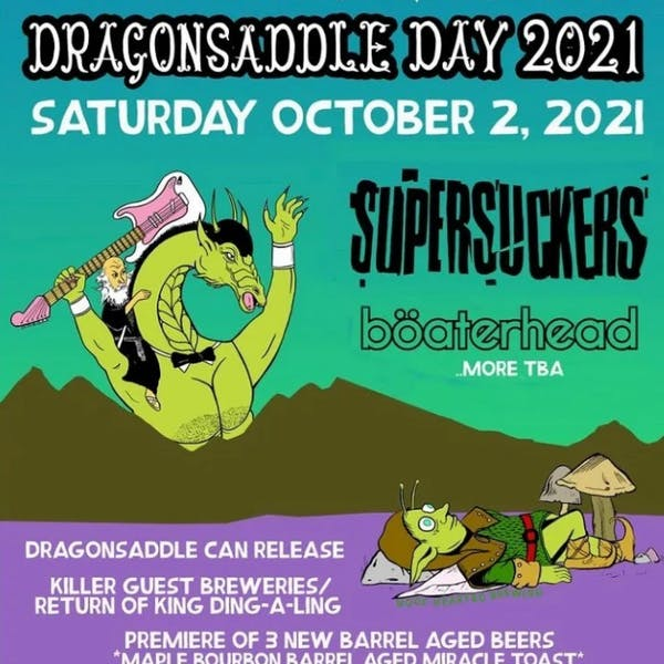 Hoof Hearted: Dragon Saddle Day 2021