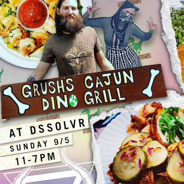 Grush's Cajun Dino Grill Pop-up