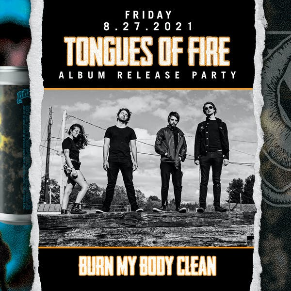 Tongues of Fire Album Listening Party w/ Bask