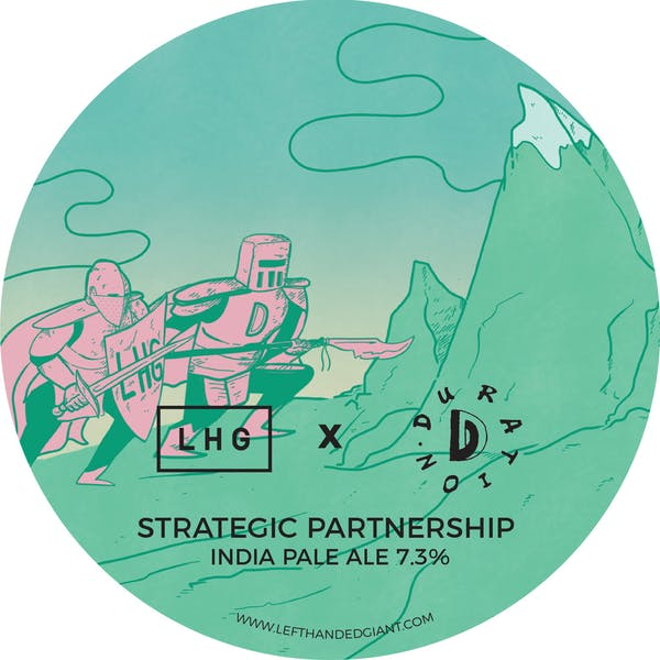 Collab #3 | Left Handed Giant | Strategic Partnership | IPA