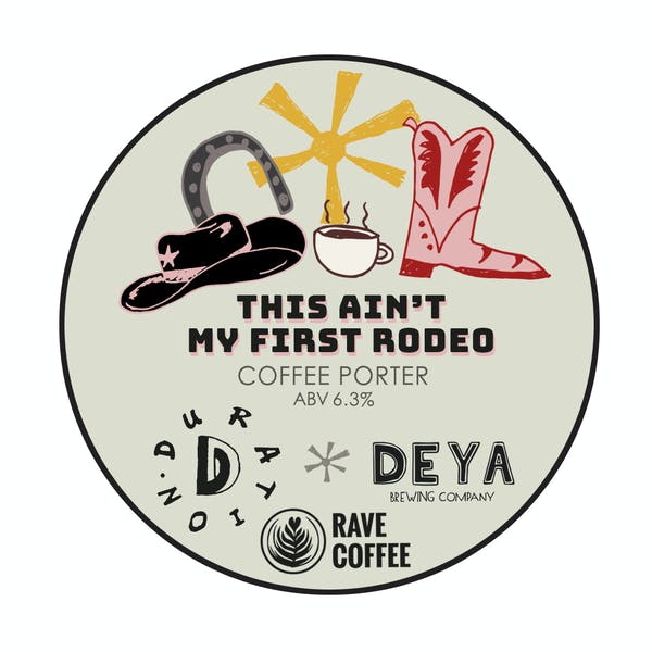 Collab #4 | Deya | Ain't My First Rodeo | Oatmeal Coffee Porter