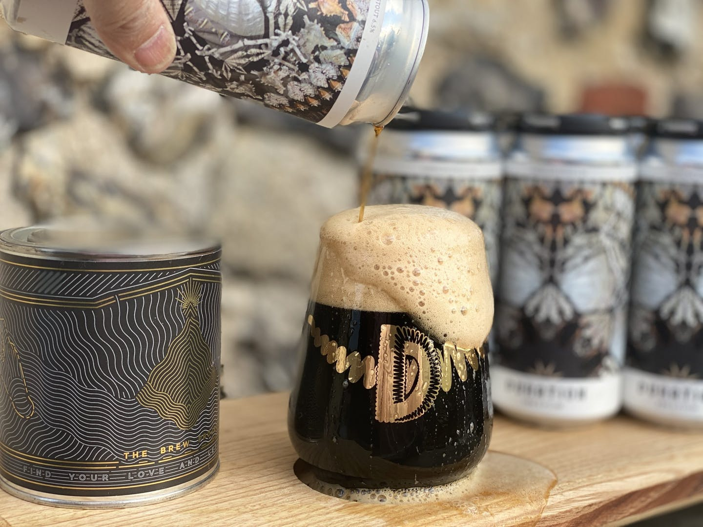 STOUT COFFEE CHRISTMAS GIFTS BEER DELIVERY