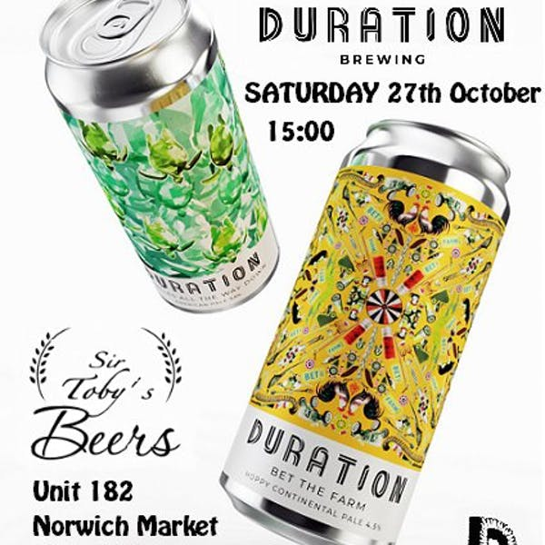 Sir Toby's Beers – Norwich – Pop-up Market Tasting