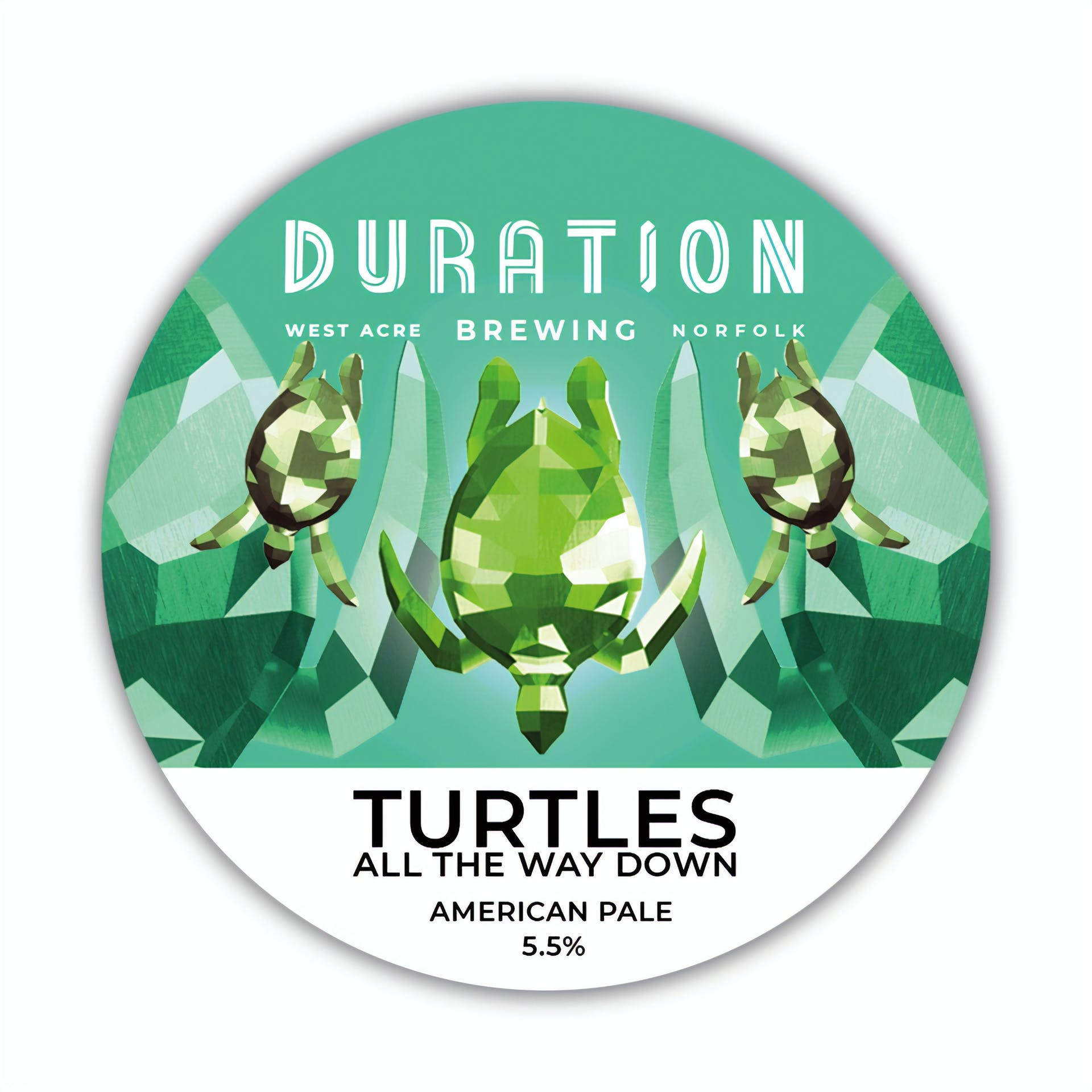 Keg Badge Turtles - HIGH RES