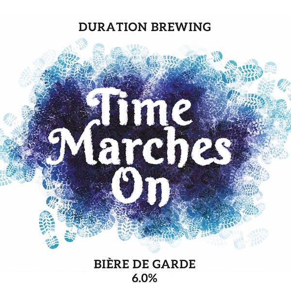 Time Marches On Bière de Garde Mixed Fermentation Ale Beer Spontaneous Fermentation