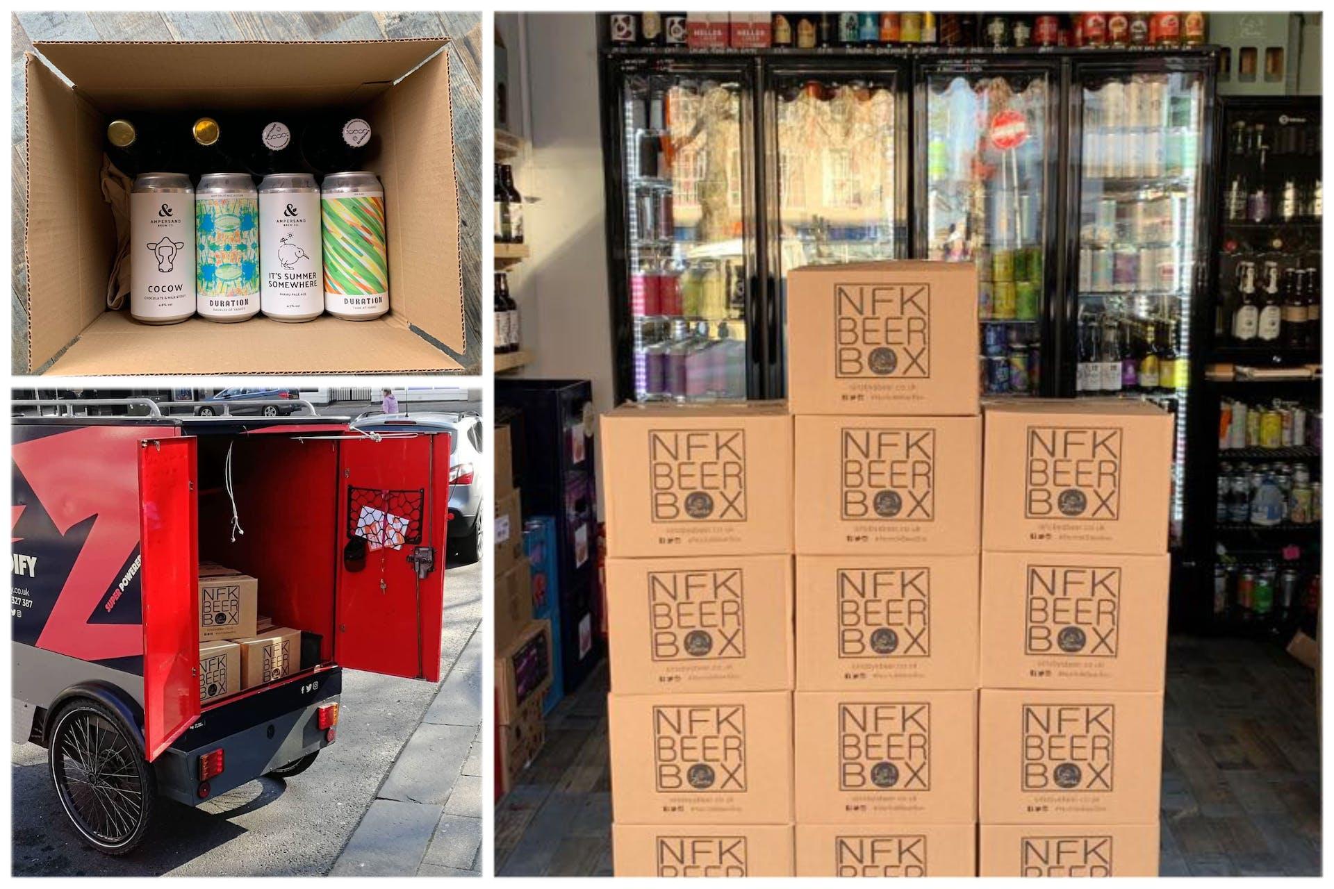 Sir Toby's Bedrock Norfolk Beer Box