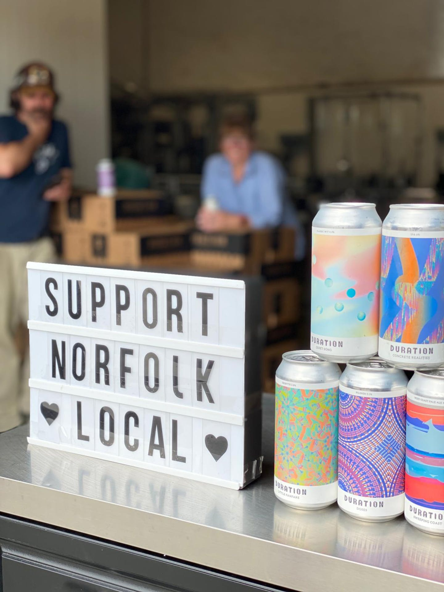 Local Kiosk Norfolk Brewery Open Day