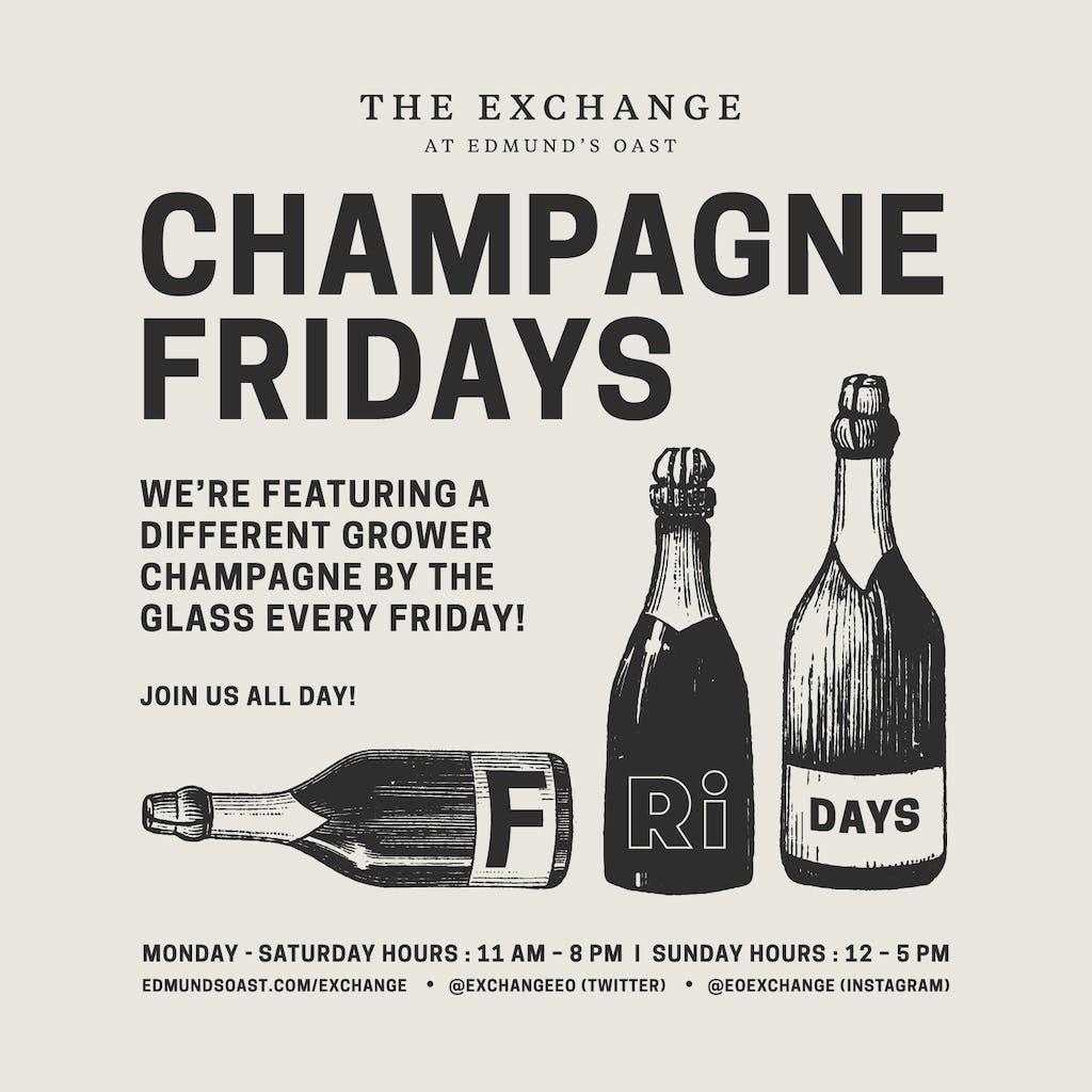 Champagne Fridays