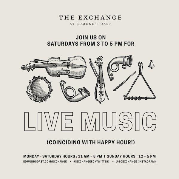 EOX Live Music Saturdays!