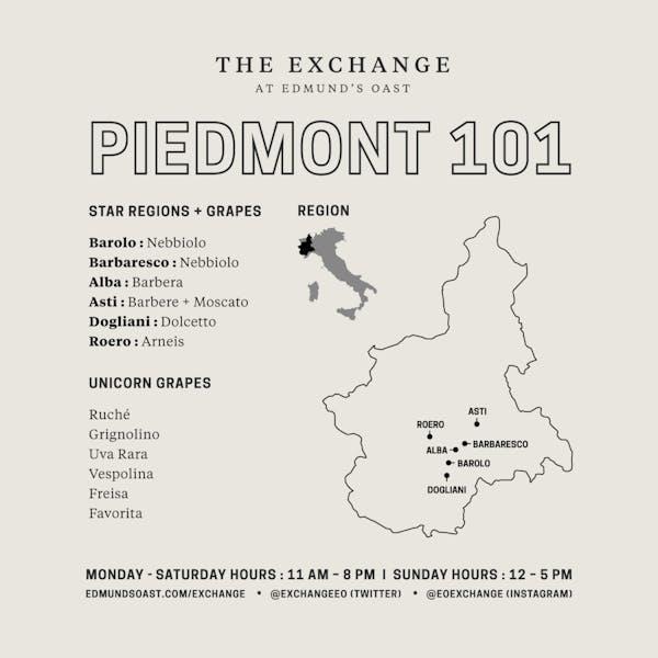 Somm School 2.0: Piedmont