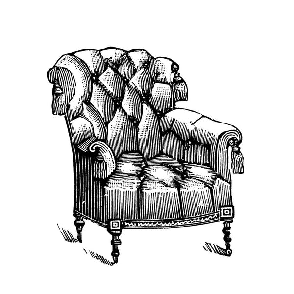 Graphic for Comfy Arm Chair