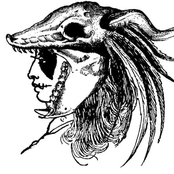 Graphic for Cult Leader's Headdress